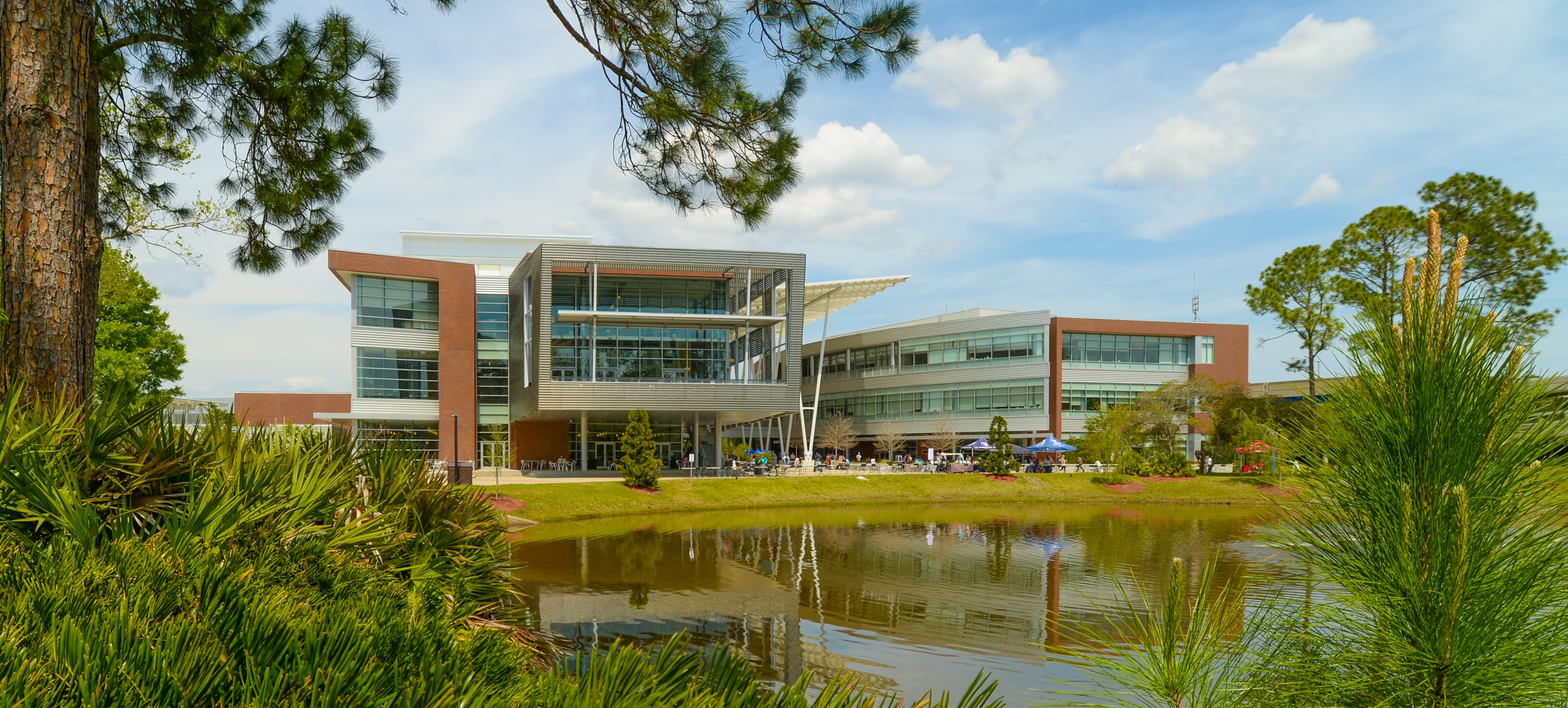 A photo of the John A. Delaney Student Union